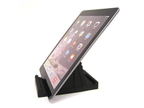 TabletProp - Universal Fit Soft Flexible Tablet, eReader and Smartphone Stand - Top Grade Silicone (Black)