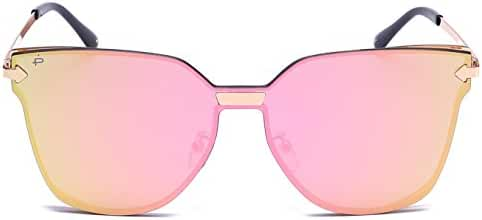 "PRIVE REVAUX ""The Madam"" Handcrafted Designer Futuristic Sunglasses"