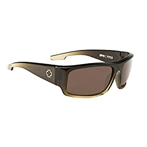 SPY Optic Piper Bronze Polarized Sunglasses for Men and for Women | Optimal Clarity Shatter Resistant Lenses | Durable Frame and Hinges | Sport Sunglasses Perfect for Any Outdoor Activity
