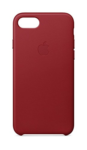 Apple Leather Case (for iPhone 8 / iPhone 7) - (PRODUCT)RED