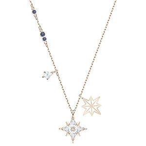 Swarovski Pendentif Swarovski Symbolic Star, blanc, Métal doré rose
