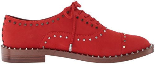 Garroy Women's Nine Red West Nubuck Oxford Flat Nubuck qA5REwx5