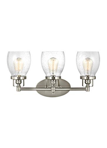 14503-962, Brushed Nickel (Sea Gull Lighting Bathroom Bulbs)