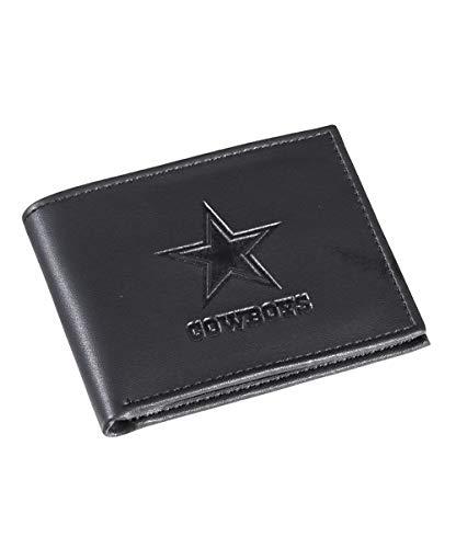 Dallas Cowboys Black Leather Wallet