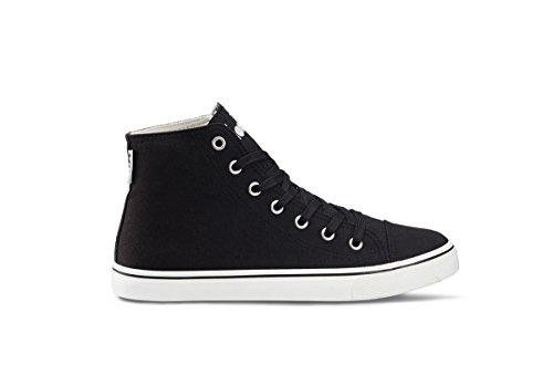 C Diadora Scarpa Jogging Donna Sneaker Black Running Clipper W High BqYdxqrw