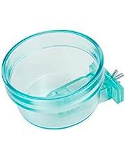 Lixit Quick Lock Translucent Cage Bowls for Birds and Small Animals (20oz, Aqua)