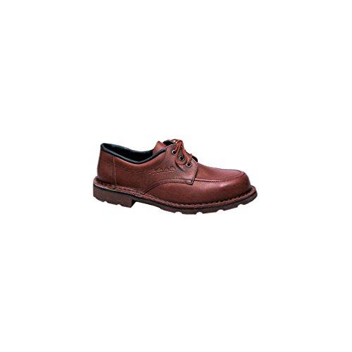 Zapato de seguridad bajo milmode, talla 47, color marrón