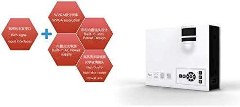 BXCGDICD Proyector LCD 1080P HD Entretenimiento Miniatura Portátil ...