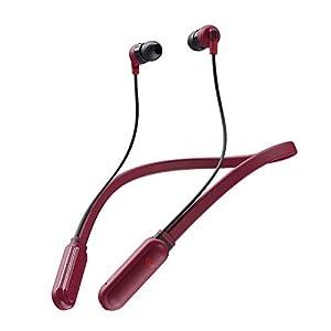 Skullcandy Inkd Plus Wireless in-Earphone with Mic (Red/Black)