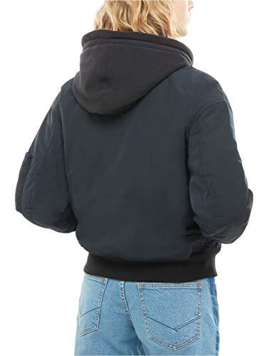 Donna Hoodie Black Boom Wm Vans Va3pd6blk m Giubbotto Aq5x4 e617d38b7a3