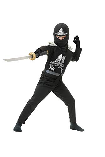 Tv Character Inspired Halloween Costumes (Charades Ninja Avenger Series II with Armor Child's Costume, Medium)