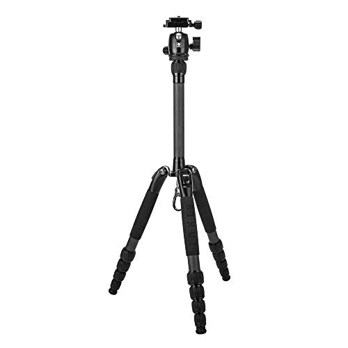 Sirui T-025SK Carbon Fiber Travel Tripod with B-00 Ball Head (Black)