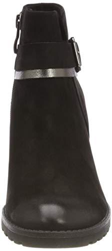 Botines 9 9 Noir 009 Femme 25426 21 Nubuc Caprice blk 9 Comb wTRU7Xqca