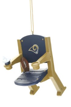 Los Angeles Rams Team Stadium Chair Ornament