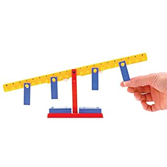 hand2mind Mini Student Number Balance Beam Classroom Kit (Set of 15)