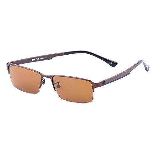 Conductor TR90 Color 0 Ligero Miopía 4 Intensidad Anti ~ 2 ZX Gafas 0 De De UV Medio Retro 1 Marco Las Deslumbramiento 1 Gafas Mujer Hombre qfwggC85