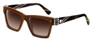 Lanvin SLN 511S brown 0851 - Lanvin Mens Sunglasses