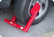 Wheel Lock - Heavy Duty - Keyed Alike