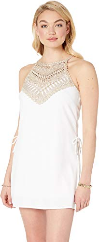 - Lilly Pulitzer Women's Pearl Romper Resort White 10