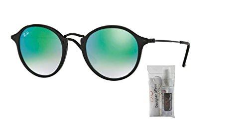 Black Ban Rb2447 Sunglasses Ray Green Gradient Shiny mirror q6avnWZwH