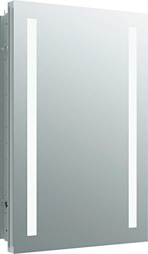 Kohler 99003-TLC-NA Verdera Lighted Medicine Cabinet, Aluminum