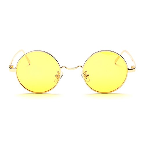 LOMOL Unisex Fashion Round Radiation Protection Anti-Blue Light Night Vision Driving - Www.ray-ban Prices Sunglasses