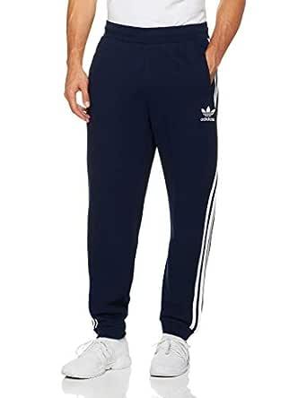 adidas Men's 3-Stripes Pant, Collegiate Navy, S