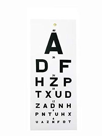 MCP Eye Vision Chart: Amazon.in: Industrial & Scientific
