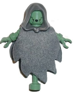 LEGO Harry Potter Green Dementor Minifigure (Rare- from Hogwart's Castle)