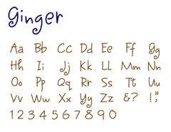 Quickutz - Complete Alphabet Set - Mini - Ginger (Revolution Die Alphabet)