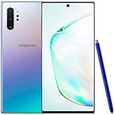Samsung Galaxy Note 10  6 8 inches Samsung 12GB RAM 256GB Unlocked Aura Glow  Renewed