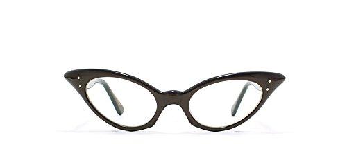 Euro Vintage - Monture de lunettes - Femme Marron Marron