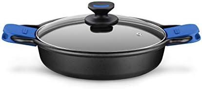 Monix Solid + Batterie 3 pièces en fonte d'aluminium avec revêtement anti-adhésif pour tous types de cuisinières, y compris induction