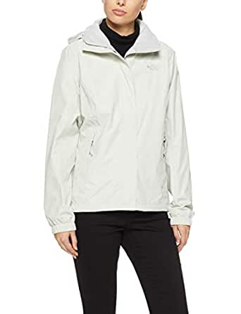 The North Face Women's Resolve 2 Jacket, Tin Grey/High Rise Grey, X-Small
