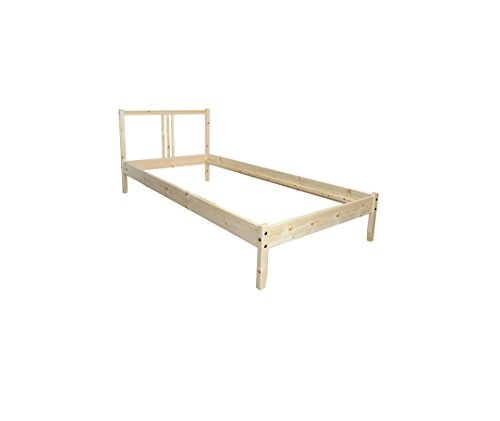 Ikea Fjellse Solid Untreated Pine Bed 90 X 200 Cm Bed Frame
