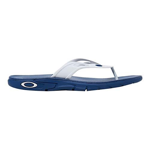(Oakley Ellipse Flip Sandal (Navy Blue,)