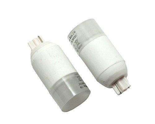 T10 AC/DC 12V 2W LED Bulb Lights Lamps White - 4