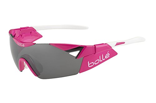 Bolle 6th Sense Small Sunglasses, Magenta/White TNS Gun Oleo - Spanish Sunglasses