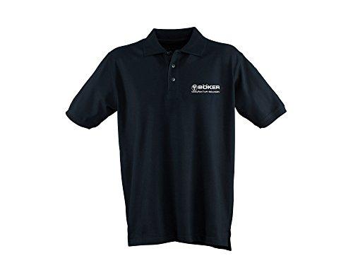 Böker Polo-Shirt Stich 2.0 Black M