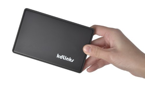 KDLINKS Ultra Slim Pocket Size USB 3.0 High Speed Tool-Free 2.5
