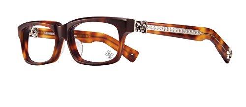 Chrome Hearts - Splat-A - Eyeglasses (Matte Butterscotch Tortoise, - Frames Italian Eyeglasses Online