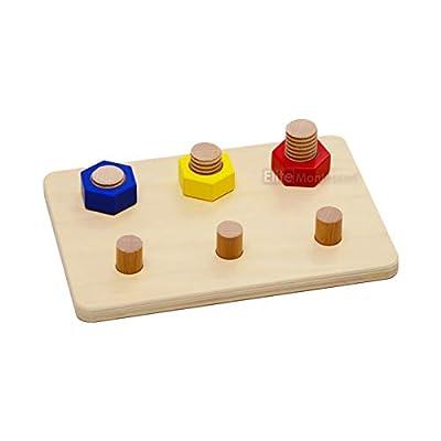 Elite Montessori Bolt Board: Toys & Games
