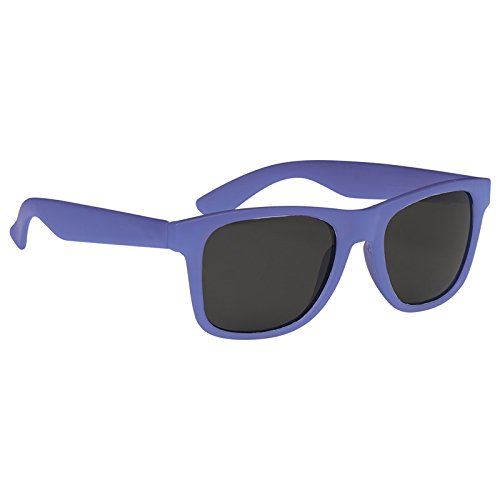 Multi-Colored Color Changing Malibu Sunglasses by iPromo - 100 Quantity – $2.35 each - (Promotional Product/Custom Branded with your specific Logo) (Frost - Logo Sunglasses Custom