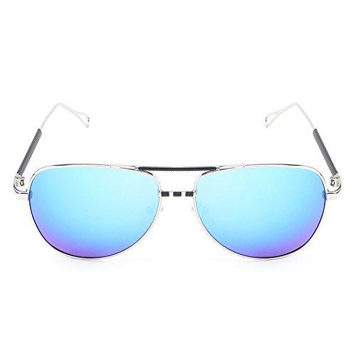 Gafas Hombre Diseñador Sol Marca de de de Shishanyun Piloto UV Hombres Classic de la Vintage Viaje Gafas polarizadas de Blue Sol Gafas anteojos qTxqwXFg