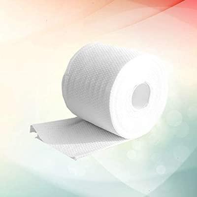 TOPBATHY 1 rollo toallas faciales secas desechables desmaquillante de tejidos limpieza algodón desechable tejido facial toalla facial toallitas faciales para niña hombre mujer: Amazon.es: Belleza