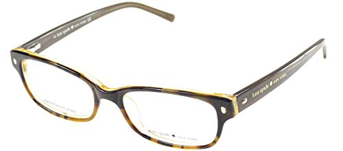 (Kate Spade Lucyann Eyeglasses-0JMD Tortoise Gold-49mm)