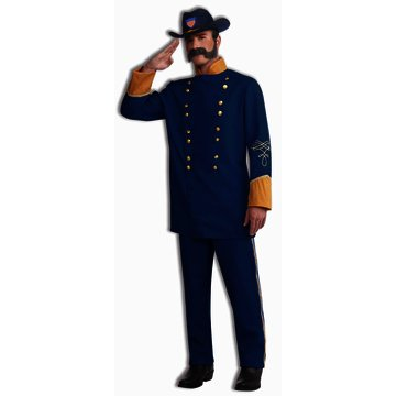 [Union Officer Costume - Standard - Chest Size up to 42] (Civil War Union Officer Costumes)