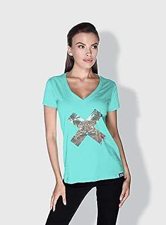 Creo Abu Dhabi X City Love T-Shirts For Women - M, Green