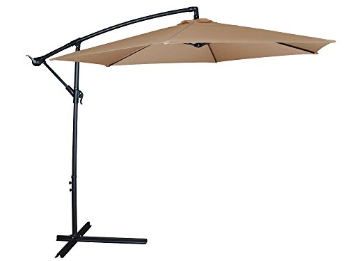 Patio Umbrella Cantilever Hanging Canopy product image