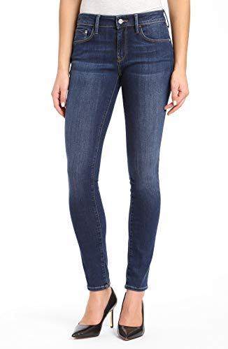 Mavi Women's Alexa Mid-Rise Skinny Jeans, Dark Supersoft, 31W X 34L